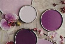 Aubergine Autumn / Aubergine, violet, purple colours - inspiration this autumn.