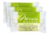 Miracle Noodle /Shirataki Recipes / Love love my Shirataki. I prefer Miracle Noodle brand due to the fact they are soy free and of the highest quality. The company is the best as far as customer service http://www.miraclenoodle.com/default.aspx