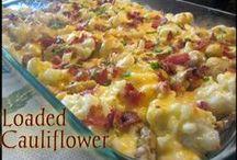 Low Carb - Cauliflower Recipes