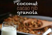 Low Carb DIY Cereals ♥ / Make your own healthy grain free low carb cereals