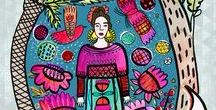 KLIKA DESIGNS, ILLUSTRATIONS, PATTERNS / Patterns, designs, illustrations, art and photography by Klika Design :)