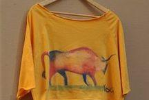 T-shirts by Yogini / Δροσερες εμπνευσεις ζωγραφισμενες στο χερι...