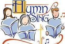 Music - ♫♪ Hymn Sing ♫♪ / I will sing to the LORD as long as I live; I will sing praise to my God while I have my being.  Psalm 104:33