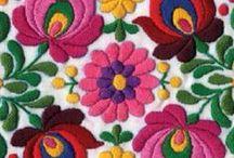 Hímzés (Embroidery) / Hímzett munkák, ötletek