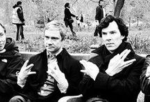 Sherlock (*0ε<艸★) / Too much Johnlock in this board, I know.