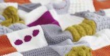 Kötött takaró (Simple Stylish) (Knitted Blanket (Simple Stylish)) / Kötött takaróm pin-jei