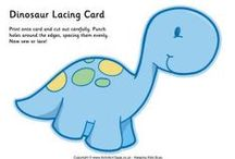 Dinosaur printables / Dinosaur printables - cool coloring pages, word searches and mini-books for lapbooks.