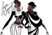 Fashion Illustrations / Fashion Illustrations and other ethnic illustrations