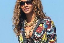 Love Your Africa / Celebrities wearing African and/or African inspired prints and fashions!