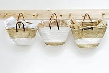 Baskets. / Baskets...not only useful but decorative.