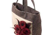 Felt bags by anardeko / Felt bags made by... me :)