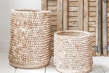 Baskets wicker and wire / Lovely baskets from many countries / by Gunilla Sjöström