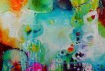 My Favourite Art / Lempitaidettani. Vahvoja värejä, herkkiä tunnelmia. - Strong colours, sensitive feelings.