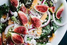 SUMMER SALADS (GF, DF) / Healthy salads, gluten free salad, dairy free salad, paleo salad, paleo salad recipe, summer salad, detox salad, salad recipe, whole30 salad