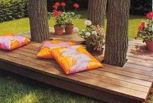 Pallet Projects / Ever had some work done in your yard and you don't know what to do with the leftover pallets? Check out this board for some ideas!