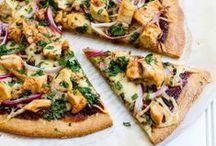 PIZZA ALTERNATIVES (PALEO, GF) / Paleo pizza, gluten free pizza, dairy free pizza, pizza bread recipe, gluten free pizza bread, paleo pizza recipe, healthy pizza