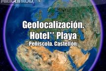 Alacant3D y Hotel Playa, Peñíscola / En Alacant3D combinamos las herramientas S.I.G. (Sistema de Información Geográfica) e Internet para realizar así una fiel recreación de sus instalaciones en tres dimensiones y las ubicamos en Google Earth™/Maps™. Esta combinación es  popularmente conocida como Geoweb, consiguiendo una conexión entre lo virtual y el mundo físico, con el fin de llegar a multitud de futuros clientes.