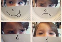 Friends & Feelings / Friend - Nice - Share - Play - Feel - Happy - Laugh - Sad - Cry