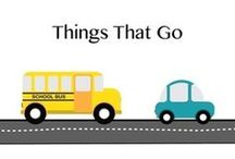 Things That Go / Car - Bus - Boat - Bike - Airplane - Train