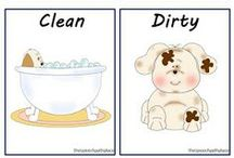 Opposites / Yes - No - Hot - Cold - Dirty - Clean - You - Me