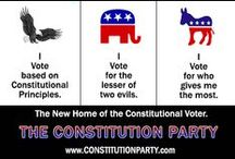 Constitution Party Ads and Other Images / Here we will will post Constitution Party ads and images we think may be of interest to Pinners. / by The Constitution Party