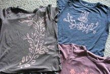 T-shirt & Sweater Recycle Projects & Crafts / T-Shirt & Sweater Recycle  / by Tracy