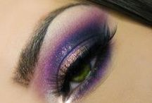 Epic Eyes / Awesome eye makeup. Party makeup ideas and tips.