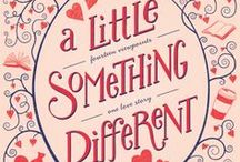 A Little Something Different / An irresistibly sweet romance between two college students, told from 14 different viewpoints, A LITTLE SOMETHING DIFFERENT by Sandy Hall will be the first novel published by Swoon Reads.