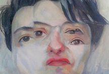 Portraits / Retratos pictóricos, dijitales, collage, etc
