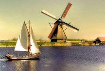 Windmill's & water mills........ / P / by Heidi
