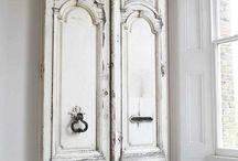 Puertas y ventanas recicladas