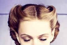Vintage Hair / All styles vintage to inspire...both casual everyday vintage and special occasion. For all enquiries call O.Constantinou & Sons, Cardiff on 02920461191