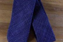 Luxury Neck Ties / Silk, cashmere, wool, linen - Hand-made luxury ties