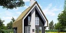 Inspiratieschetsen / Verschillende schetsen van prachtige villa's ter inspiratie voor uw droomhuis!