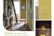 Pratt & Lambert Paint Colors / Look and see some of our favorite Pratt & Lambert paint colors!!!