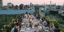 Venues | NYC Penthouses and Rooftops / One of the most requested venues we hear from marketers are outdoor rooftop or penthouses for their events.  Maybe it's being outside, dreaming of the lavish life or the views, but here are some of our favorites!