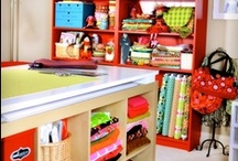 Sewing Spaces and Organization