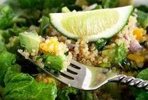 Gluten-Free Salads / Delicious salads containing no gluten.