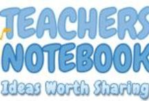 *TEACHERS NOTEBOOK PRODUCTS & IDEAS / TEACHER'S NOTEBOOK PRODUCTS and CLASSROOM IDEAS/TIPS