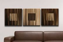 Abstract Canvas Art / Hand painted Abstract Art Paintings by Richard Buckley