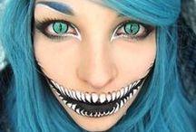 Makeup for Halloween  / Halloween