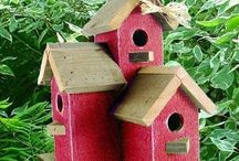 house for the birds / vogelhuisjes