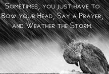 Help During the Storms of Life / Life can be hard, but there is help and there is hope! Find some here!