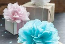 tissue paper wrapping / Beautiful wrapping material for gift, flower, party or wedding decoration and other exclusive packaging with nonwovens material