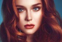hair: redhead