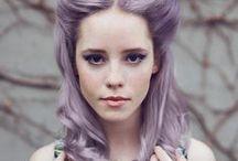 hair: colorful
