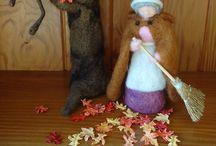 Nature table: Autumn