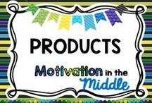 Products / Products offered at Teachers pay Teachers store