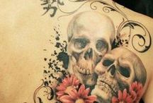 skull tattoos / Life Is The Best Thing
