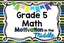 Grade 5 Math / Special Ed Resource